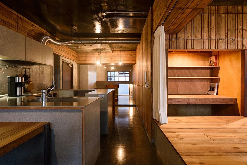 studio move renovates japanese apartment by the coast