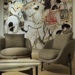 Design Of Wood Sofa Set Broyhill Harrison Yabu Pushelberg's Heath & Oiseau Collection For Linteloo