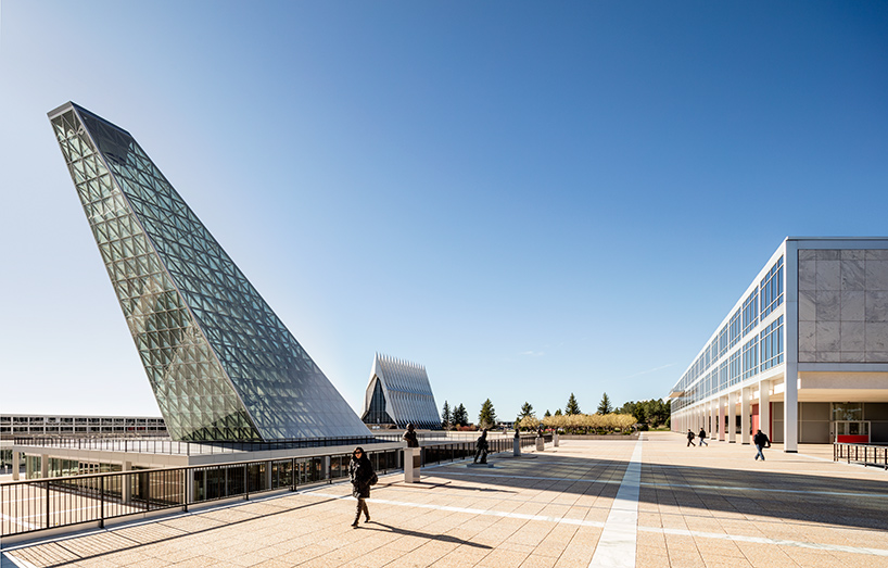 SOM adds to US air force academy campus in colorado