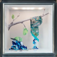 isabelle daron: window displays at Herms ginza tokyo