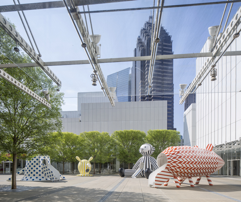 to buy sofa in london down filled toronto jaime hayon animates the high museum of art's piazza with ...