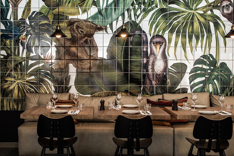 karina eibatova tiles a magical jungle within casa cook