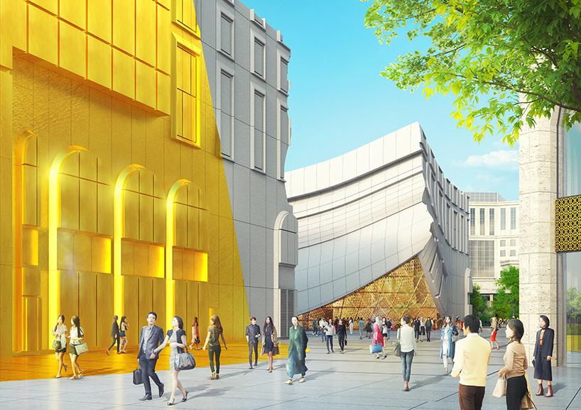 MVRDV plans entertainment plaza for seouls paradise city