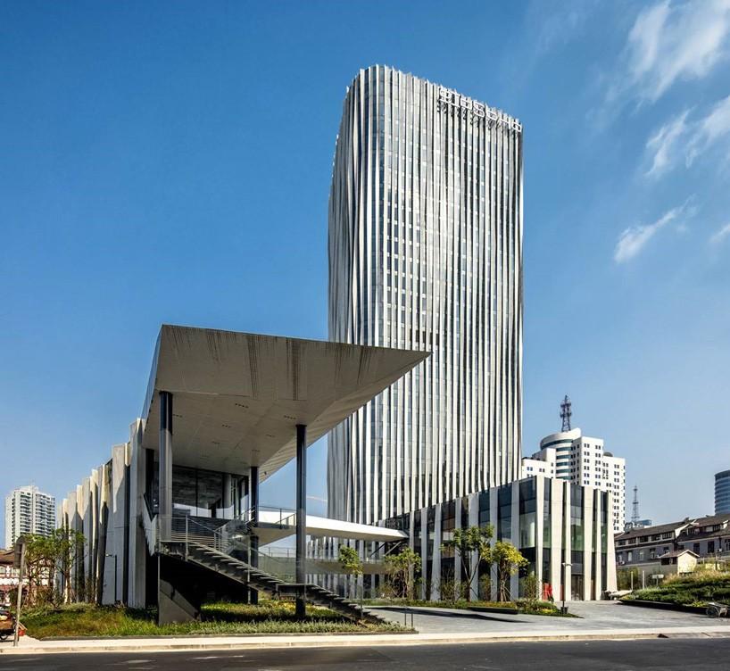 kengo kuma hongkou soho shanghai office tower