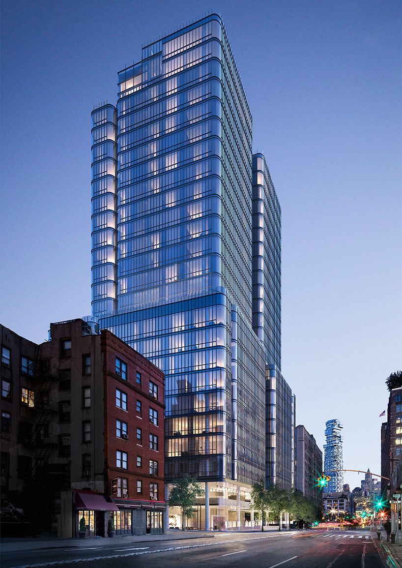 565 broome soho tower in new york by renzo piano