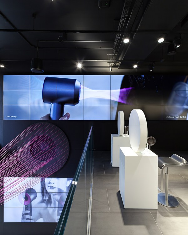 Dyson Demo Concept Store Opens London' Oxford Street