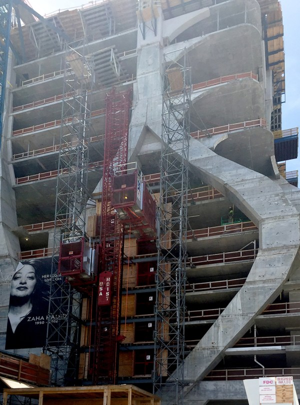 1000 Museum Zaha Hadid Takes Shape In Miami
