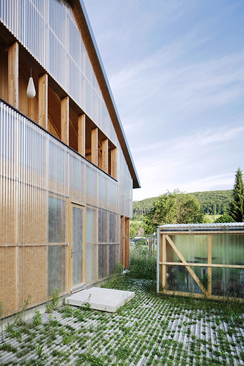 HHF architects completes prefabricated house C in switzerland