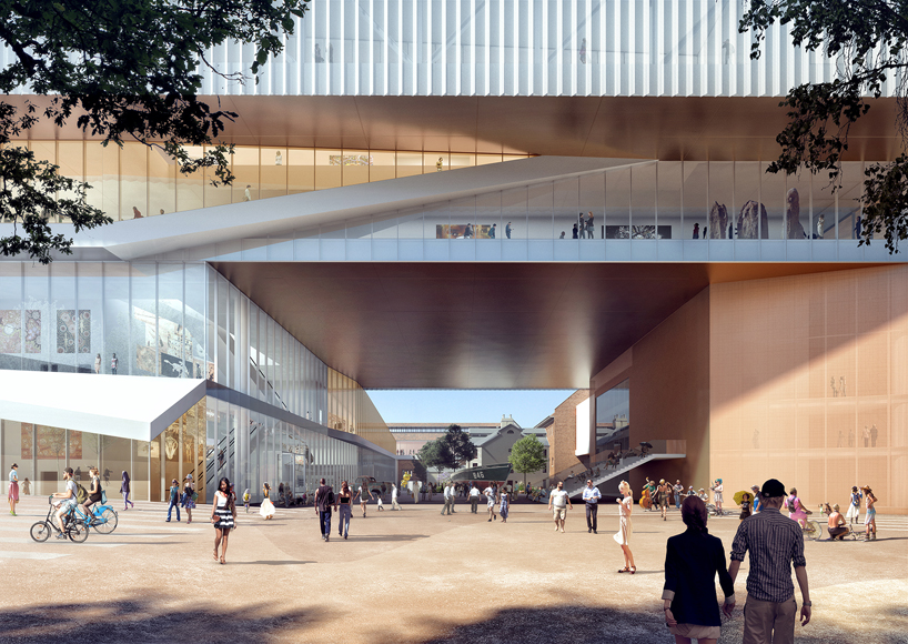 OMA  HASSELL team up for new museum in perth australia