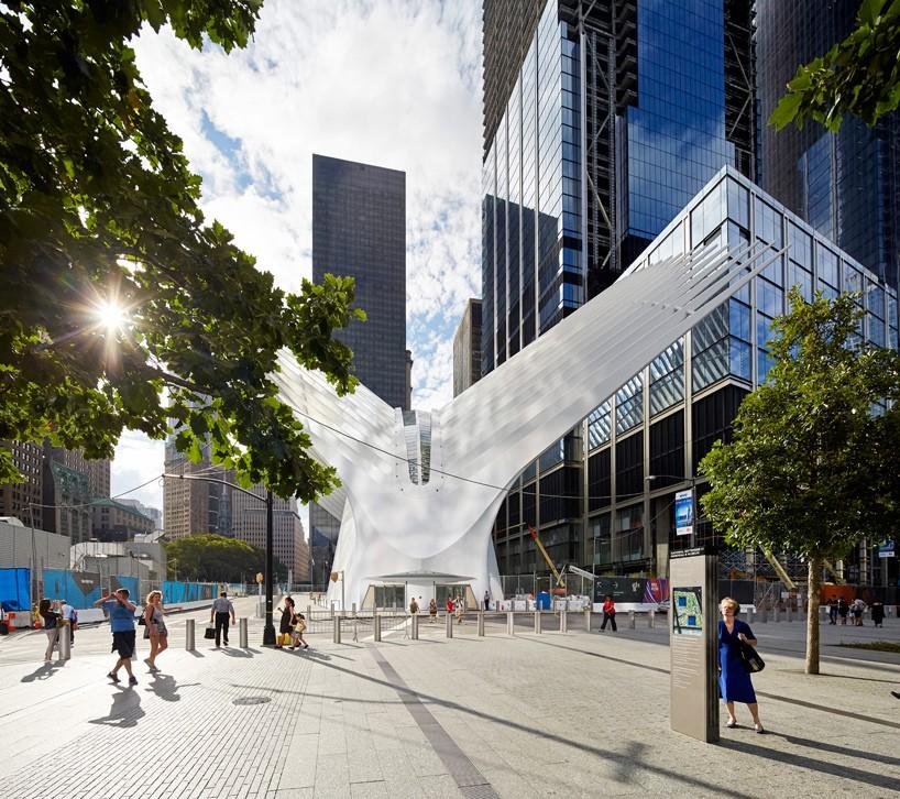oculus WTC new york by santiago calatrava