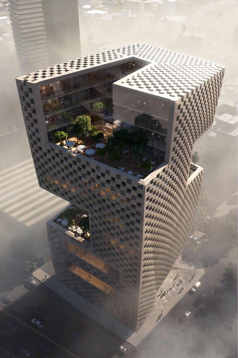 snhettas vision for banque libano francaise tower in beirut