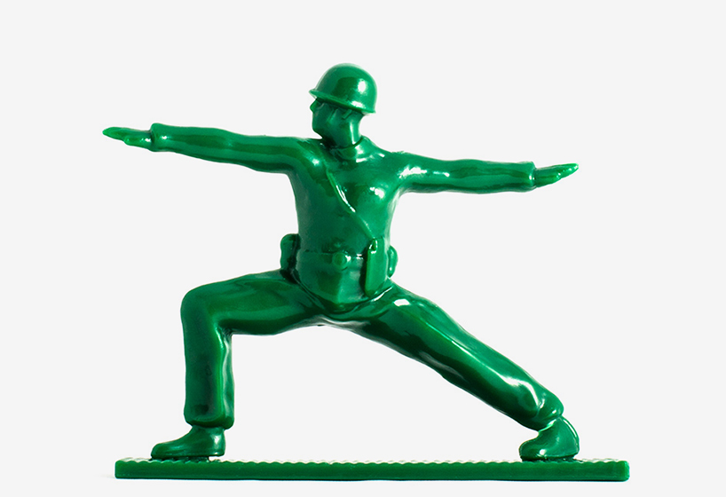 yoga joes toy soldiers find their inner zen