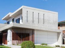 studio benicio constructs contemporary concrete home in sydney