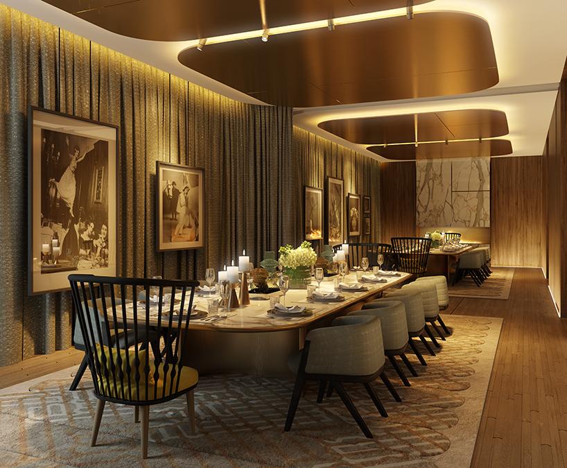 patricia urquiola unveils interiors for londons lincoln