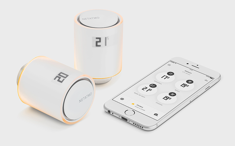 netatmo by philippe starck: smart radiator valves