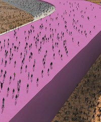 trump wall proposal for the mexican border by estudio 3.14