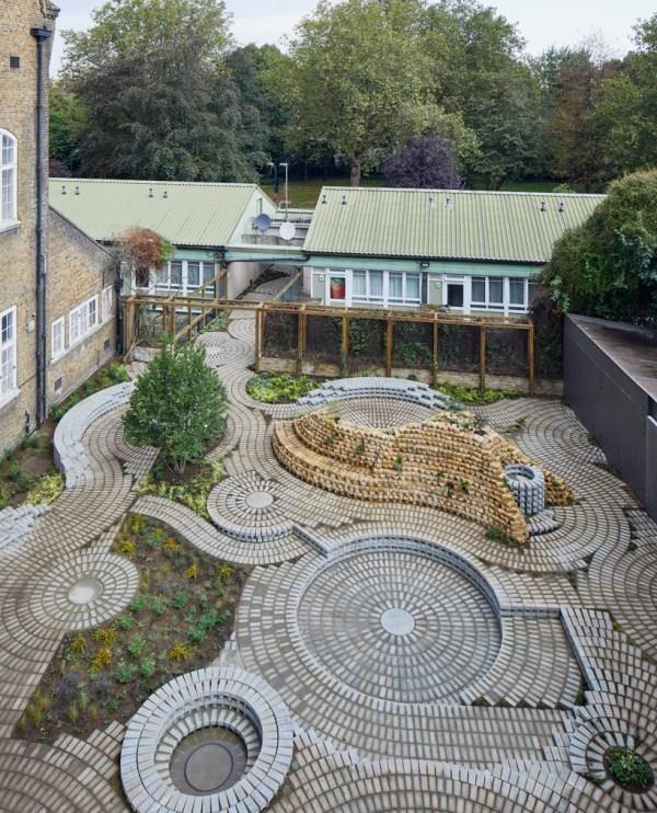 Gabriel Orozco Sculpts Permanent Garden South London