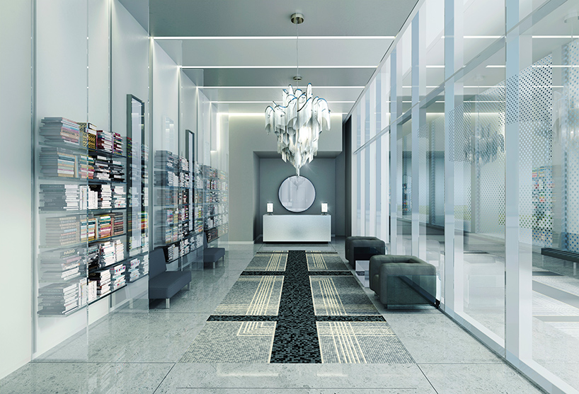 karl lagerfeld designs lobbies for toronto condo building