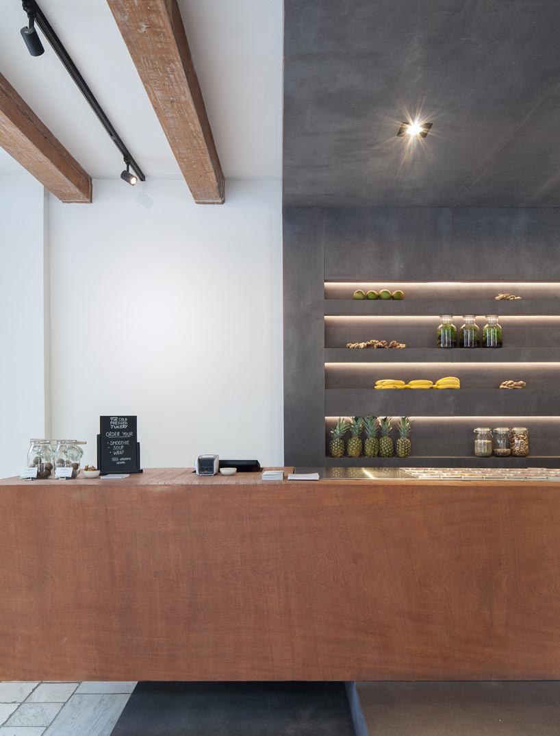 Standard Studio Completes Cold Pressed Juicery Interior In
