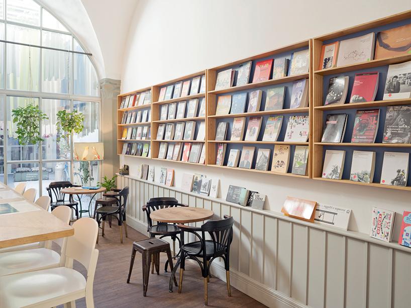 brac bookstore  caf in florence by DEFERRARI  MODESTI