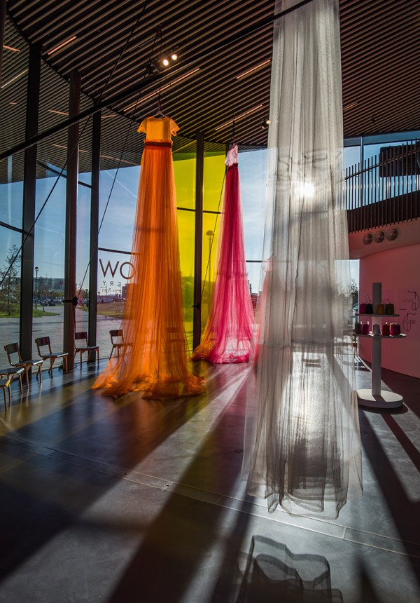 Molly Goddard' 30-foot-long Tulle Dresses