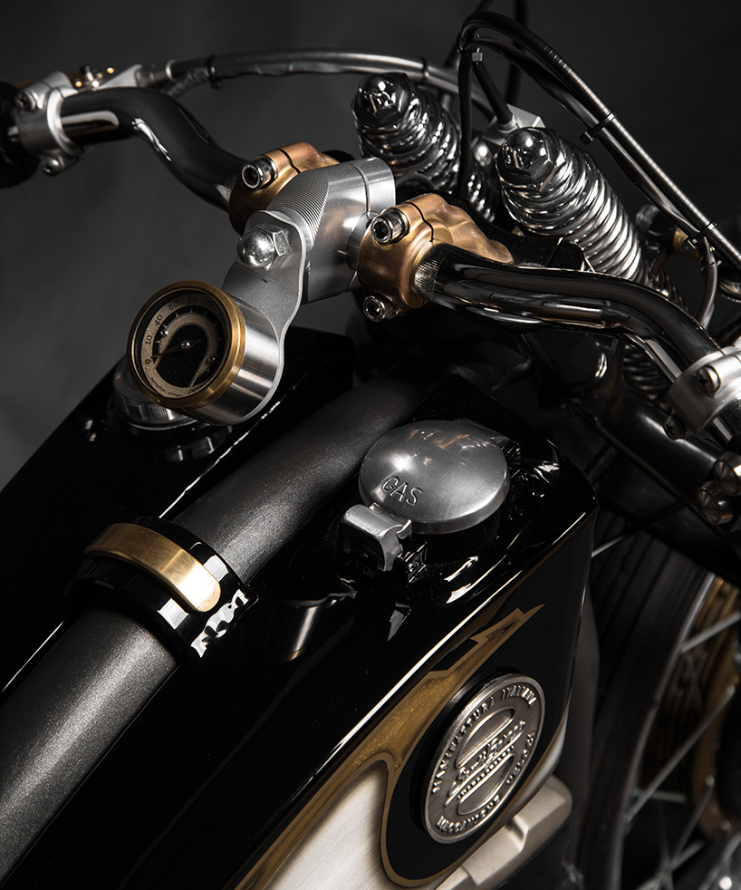 harley davidson sportster 883 opera custom motorcycle by south garage