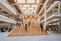 AL_A, HASSELL & PLP complete sky central workplace