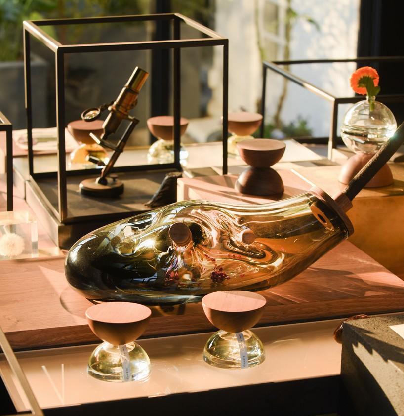 ignacio cadena and hector esrawe design xin perfume bottle