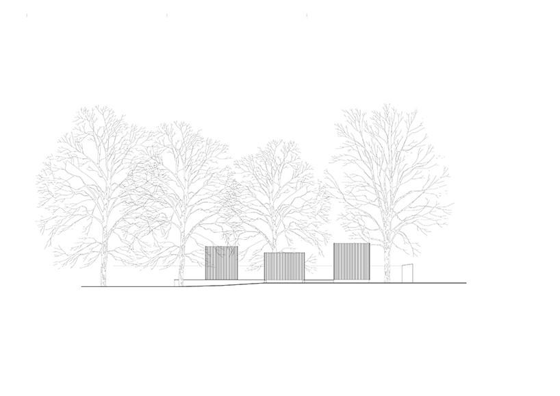 jan rösler architekten's wooden storage facilities