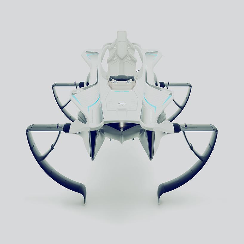 quadrofoil Q2S electric designboom