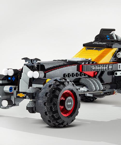 Chevrolet Builds Life Sized LEGO Batmobile