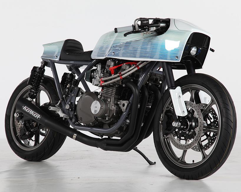 project z cafe racer custom motorcycle sur les chapeaux de roues designboom