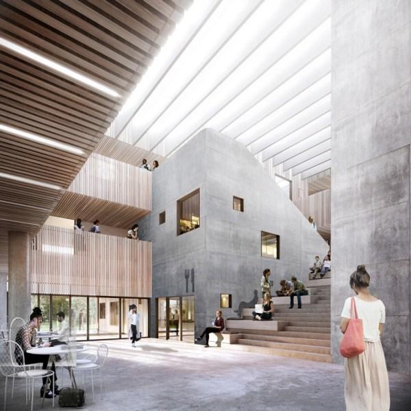 Architecture Roskilde Campus In Denmark