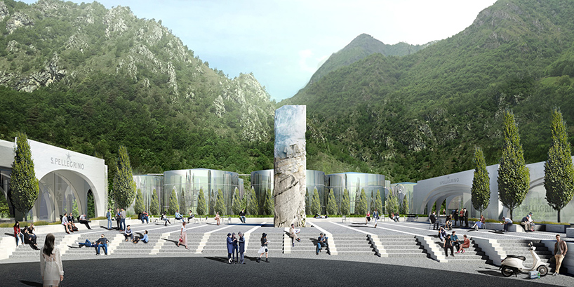 BIG Wins Competition To Construct San Pellegrino Flagship Factory In Italy