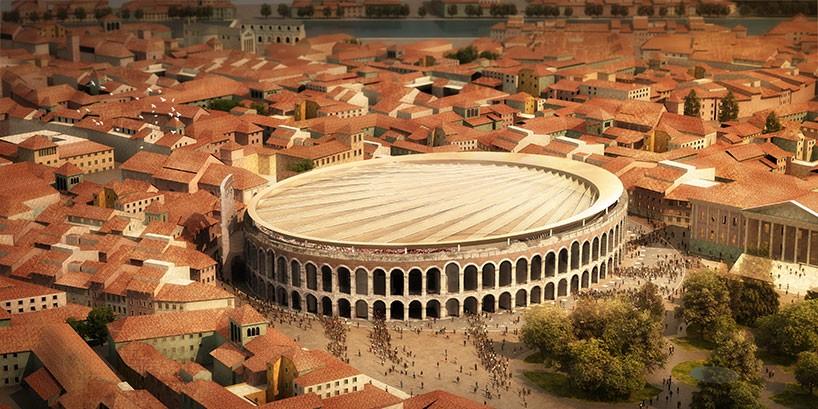 Gmp Arkitecten To Install Retractable Roof To Verona Arena