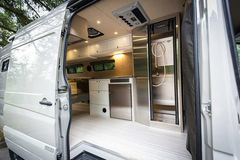 valhalla 4x4 mercedes benz sprinter mobile home by outside van