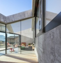 Concrete House Walls