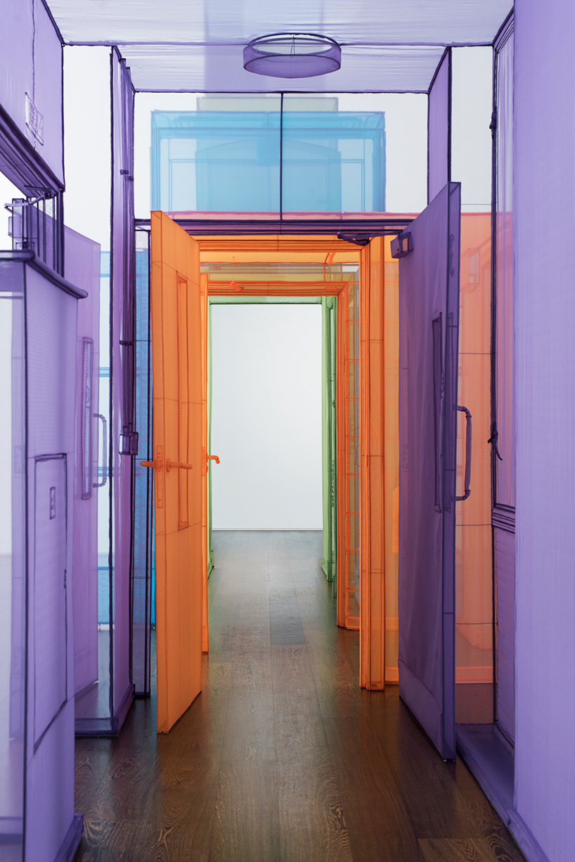 do ho suhs immersive fabric passages at victoria miro gallery