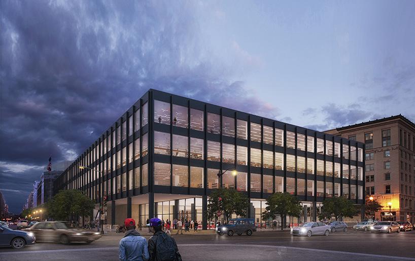 mecanoo releases plans to overhaul MLK library in DC