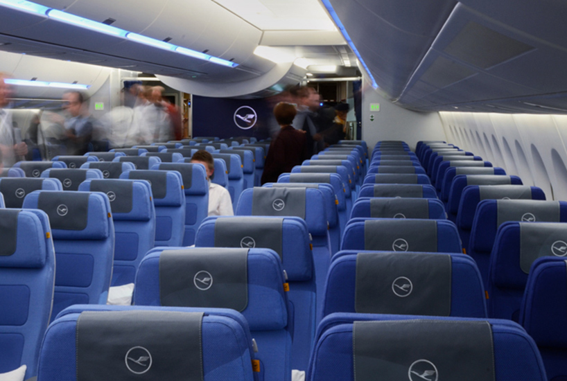 Pearsonlloyd Fits Out Lufthansas A350 Economy Class Cabin
