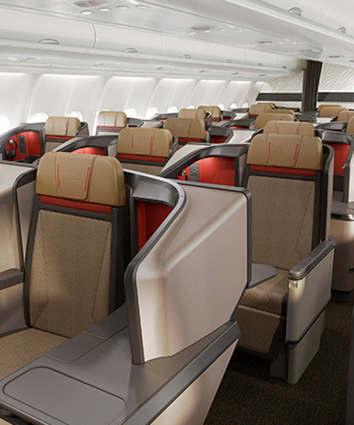 Business Class Cabin Interior By Priestmangoode For South