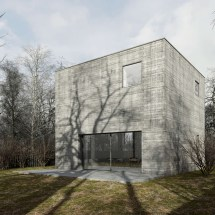 Concrete Cube House In Poland Te Architekci