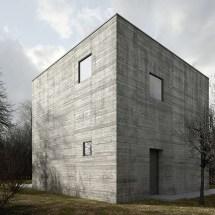 Concrete Cube House