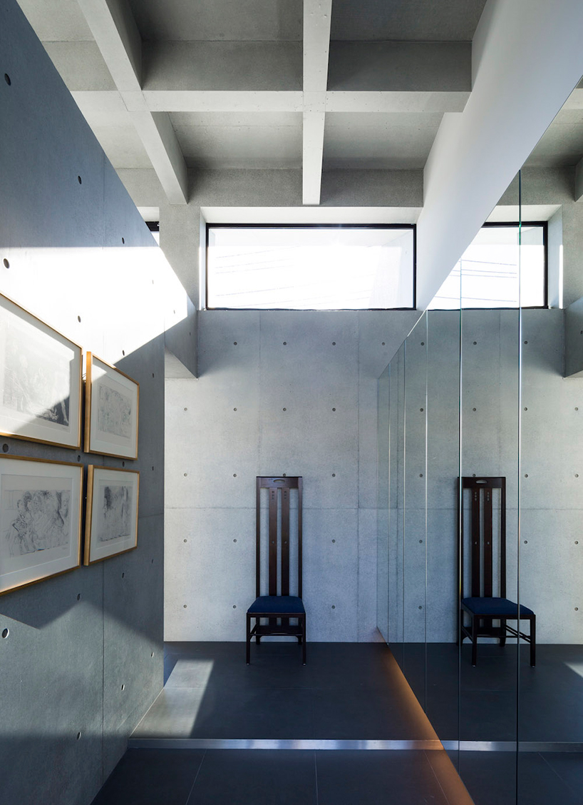 apollo architects completes japanese home with concrete
