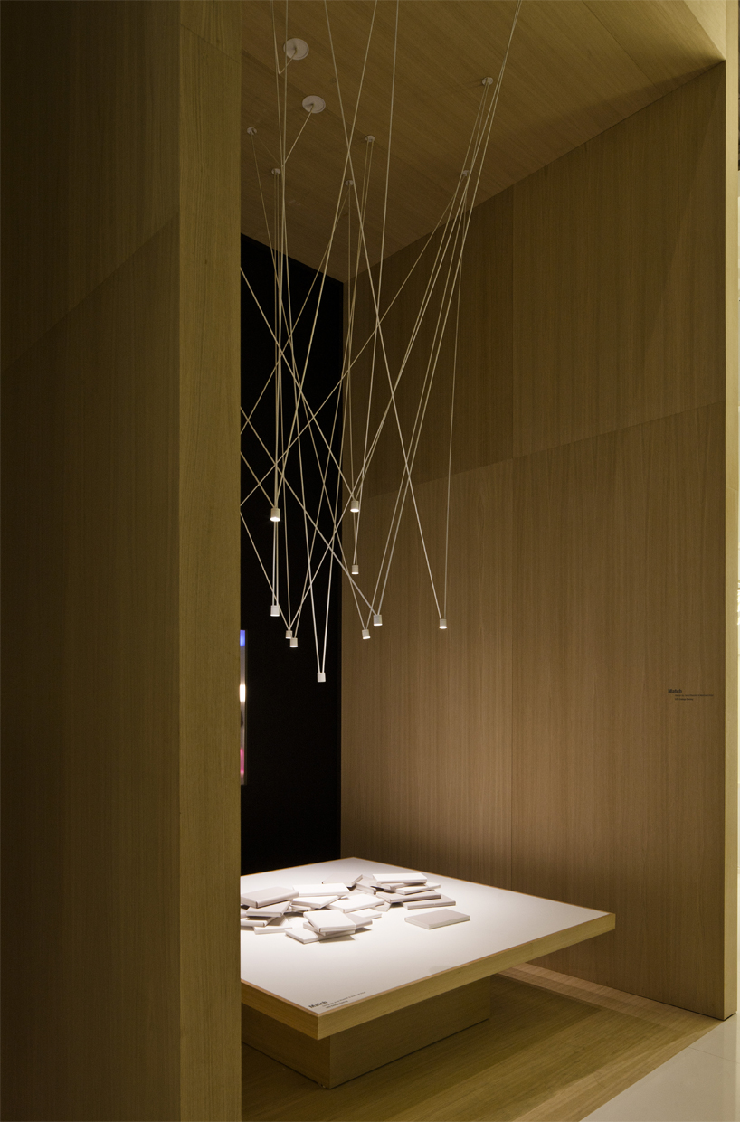 VIBIA match sculpts lighting compositions of chaotic harmony