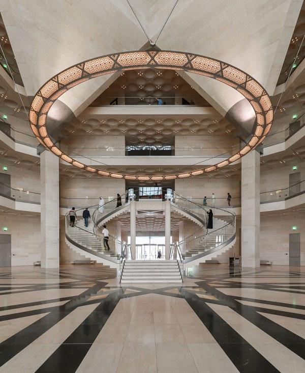 Of . Pei' Museum Islamic Art Jazzy Li Unveiled