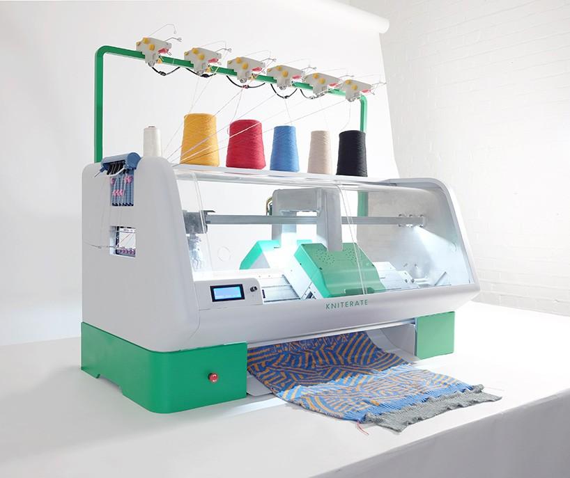 The 'kniterate' Digital Knitting Machine Is A 3D Printer