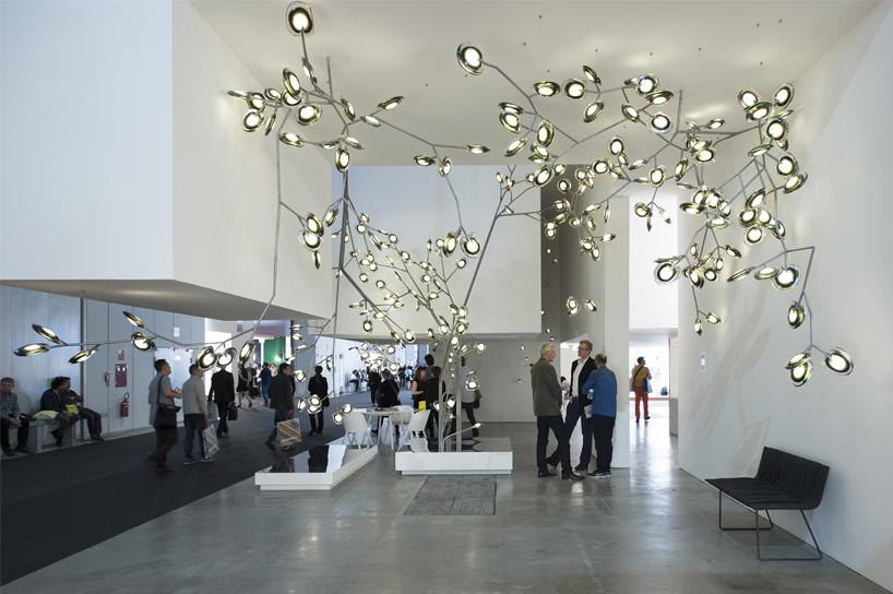 euroluce biennial exhibition returns at salone del mobile