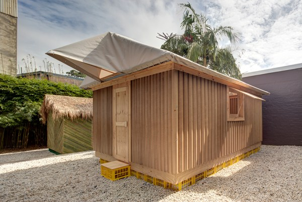 shigeru ban's disaster relief shelters