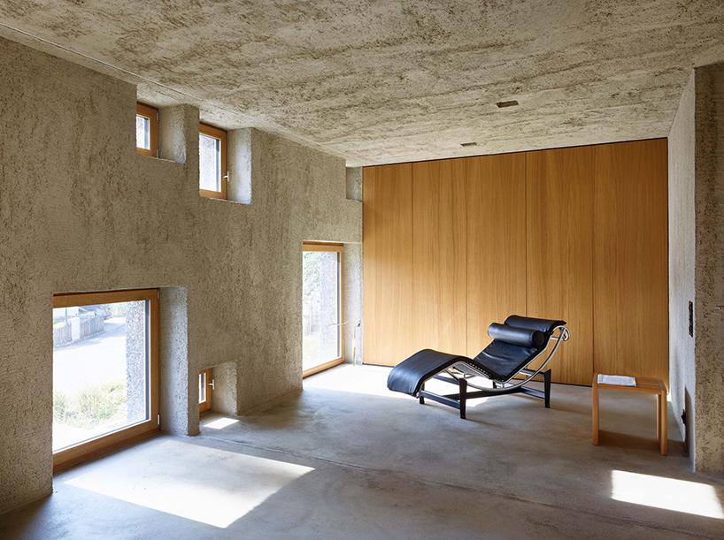 new concrete house in fllinsdorf by wespi de meuron romeo